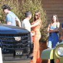 Sofia Vergara and Joe Manganiello– Leaving Soho Housein in Malibu 7/2/2016 - 454 x 557