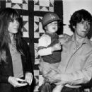 Jane Fonda and Tom Hayden with son Troy - 454 x 303