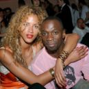 Noemie Lenoir and Claude Makelele