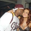 Lindsay Lohan and 50 Cent