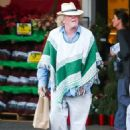 Nick Nolte as he left a grocery store in Malibu on Saturday