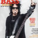 Nikki Sixx - Bass Musician Magazine Cover [United States] (May 2016)
