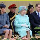 The Queen & the Duke & Duchess of Cambridge