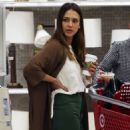 Jessica Alba – Shopping at Target in Los Angeles