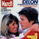 Alain Delon - Paris Match Magazine Cover [France] (November 1984)