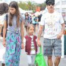 Anthony Kiedis and Helena Vestegaard