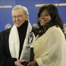 Roger Ebert and Chaz Hammelsmith Ebert