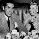 Lana Turner and Tyrone Power - 454 x 470