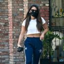 Olivia Munn – Looks sporty wearing Addidas while leaving a nail salon in Studio City - 454 x 691