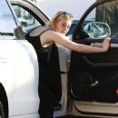 Elle Fanning – Arrives at a Studio in Hollywood