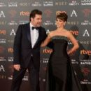 Penelope Cruz and Javier Bardem- Goya Cinema Awards 2016