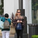 Rebecca Mader was seen at The Grove In Los Angeles Ca April 6, 2017 - 450 x 600