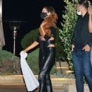 Olivia Culpo – Out for a dinner with friends at Nobu in Malibu