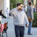 Tobey Maguire is seen in Beverly Hills