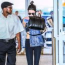 Kendall Jenner  Arriving at JFK Airport in New York City