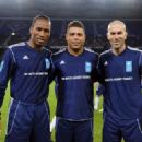 Didier Drogba, Ronaldo and Zinedine Zidane to Form Dream Forward Line