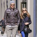 Olivia Palermo: shop at the Apple Store in the Meatpacking District in New York