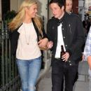 Loved up: Chelsy Davy is now dating art dealer Blaise Patrick, a friend of her ex Prince Harry