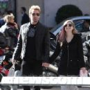 Avril Lavigne and Chad Kroeger in Paris, September 30th 2012
