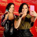 Demi Lovato Wax Figure At Madame Tussauds