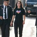 Courteney Cox – Arriving at Jimmy Kimmel Live! in LA - 454 x 622