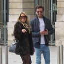 Sylvie Meis and her boyfriend out in Paris - 454 x 643
