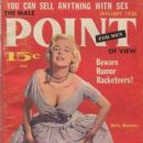 Betty Brosmer - Male Point Magazine Cover [United States] (January 1956)