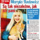 Maryla Rodowicz - Nostalgia Magazine Pictorial [Poland] (October 2018)