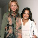 Kristanna Loken and Michelle Rodriguez