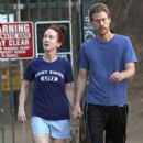 Kathy Griffin: out for a walk in the Hollywood Hill in Hollywood