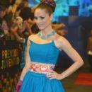 Carolina Tejera- Univision's Premios Juventud 2015- Red Carpet - 399 x 600