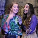 Haley Lu Richardson – Visits Knott's Scary Farm in Buena Park