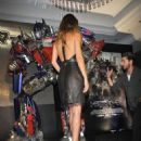 "Rosie Huntington-Whiteley attends the ""Transformers: Dark of the Moon"" press conference at the St. Regis Hotel Osaka on July 16, 2011 in Osaka, Japan. The film will open on July 29 in Japan"