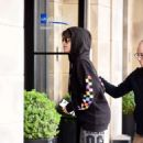 Camila Cabello in Tights – Out in Manchester