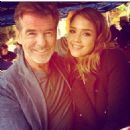 Pierce Brosnan and Jessica Alba