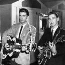 James Burton with Ricky Nelson