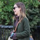 Emilia Clarke – Out for a dog waqlk in London