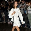 Nina Dobrev – Arrives at Louis Vuitton Fashion Show in Paris