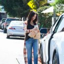 Jenna Dewan – Leaves HomeState Tex-Mex Restaurant in Los Angeles