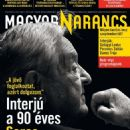 George Soros - Magyar Narancs Magazine Cover [Hungary] (20 August 2020)