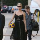 Charlize Theron at 'Jimmy Kimmel Live!' in Hollywood - 454 x 641