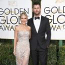 Chris Hemsworth and Elsa Pataky- 74th Annual Golden Globe Awards - 406 x 600