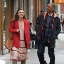 Keira Knightley film scenes for the upcoming movie 'Collateral Beauty' in New York City, New York on April 1, 2016 - 454 x 577
