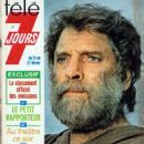 Burt Lancaster - Télé 7 Jours Magazine Cover [France] (21 February 1976)