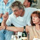 Director Bob Dolman and Susan Sarandon on the set of Fox Searchlight's The Banger Sisters - 2002