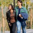 Fernando Verdasco and Jarah Mariano Madrid stroll - 423 x 550