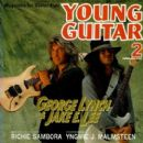 Jake E. Lee, George Lynch - Young Guitar Magazine Cover [Japan] (February 1992)