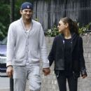 Ashton Kutcher and Mila Kunis out and about in London, England (May 19)