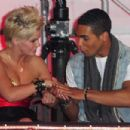 Kerry Katona and Lucien Laviscount - 454 x 302