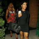 Toni Braxton dines out at Mr Chow Restaurant on September 11, 2014 in Beverly Hills, California